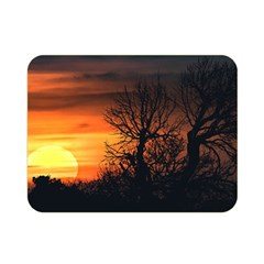 Sunset At Nature Landscape Double Sided Flano Blanket (Mini)
