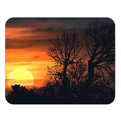 Sunset At Nature Landscape Double Sided Flano Blanket (Large)