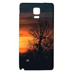 Sunset At Nature Landscape Galaxy Note 4 Back Case