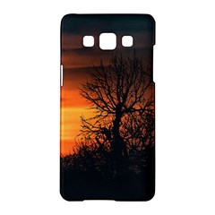 Sunset At Nature Landscape Samsung Galaxy A5 Hardshell Case