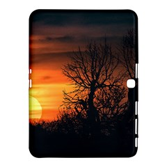 Sunset At Nature Landscape Samsung Galaxy Tab 4 (10.1 ) Hardshell Case