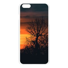 Sunset At Nature Landscape Apple Seamless iPhone 6 Plus/6S Plus Case (Transparent)