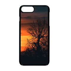 Sunset At Nature Landscape Apple Iphone 7 Plus Seamless Case (black)
