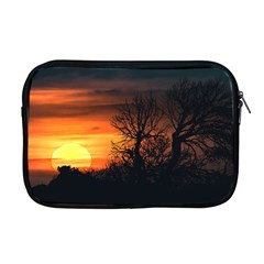 Sunset At Nature Landscape Apple MacBook Pro 17  Zipper Case