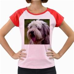 Bearded Collie Women s Cap Sleeve T-Shirt