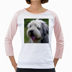 Bearded Collie Girly Raglans