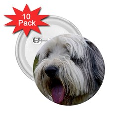 Bearded Collie 2.25  Buttons (10 pack)