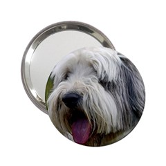 Bearded Collie 2.25  Handbag Mirrors