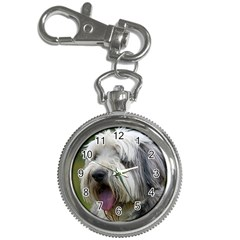 Bearded Collie Key Chain Watches