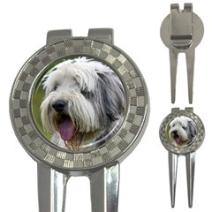 Bearded Collie 3-in-1 Golf Divots