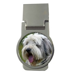 Bearded Collie Money Clips (Round)