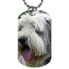 Bearded Collie Dog Tag (One Side)
