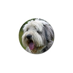 Bearded Collie Golf Ball Marker (4 pack)