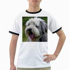 Bearded Collie Ringer T-Shirts