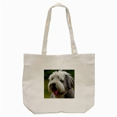 Bearded Collie Tote Bag (Cream)