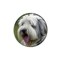 Bearded Collie Hat Clip Ball Marker