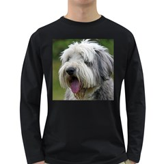 Bearded Collie Long Sleeve Dark T-Shirts