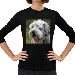 Bearded Collie Women s Long Sleeve Dark T-Shirts
