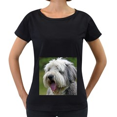 Bearded Collie Women s Loose-Fit T-Shirt (Black)