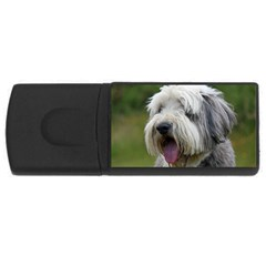 Bearded Collie USB Flash Drive Rectangular (4 GB)