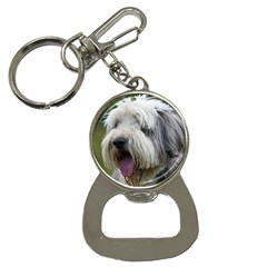 Bearded Collie Button Necklaces