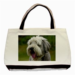 Bearded Collie Basic Tote Bag