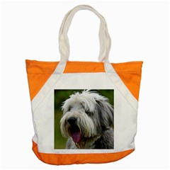 Bearded Collie Accent Tote Bag