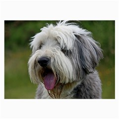 Bearded Collie Large Glasses Cloth (2-Side)
