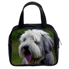 Bearded Collie Classic Handbags (2 Sides)