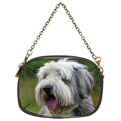 Bearded Collie Chain Purses (One Side)