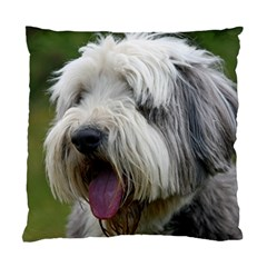 Bearded Collie Standard Cushion Case (Two Sides)