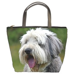 Bearded Collie Bucket Bags