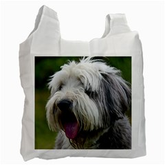 Bearded Collie Recycle Bag (One Side)