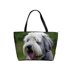 Bearded Collie Shoulder Handbags
