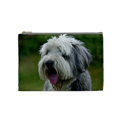 Bearded Collie Cosmetic Bag (Medium)
