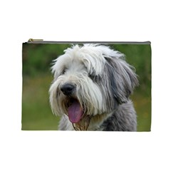 Bearded Collie Cosmetic Bag (Large)