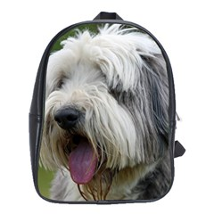 Bearded Collie School Bags(Large)
