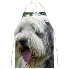 Bearded Collie Full Print Aprons