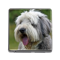 Bearded Collie Memory Card Reader (Square)