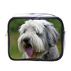 Bearded Collie Mini Toiletries Bags