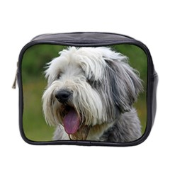 Bearded Collie Mini Toiletries Bag 2-Side
