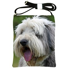 Bearded Collie Shoulder Sling Bags