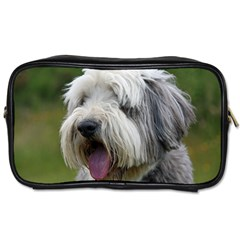 Bearded Collie Toiletries Bags