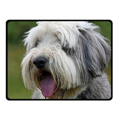 Bearded Collie Fleece Blanket (Small)