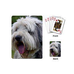 Bearded Collie Playing Cards (Mini)