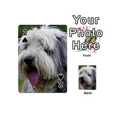 Bearded Collie Playing Cards 54 (Mini)