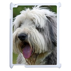 Bearded Collie Apple iPad 2 Case (White)