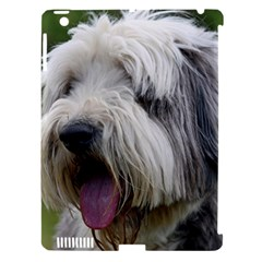 Bearded Collie Apple iPad 3/4 Hardshell Case (Compatible with Smart Cover)