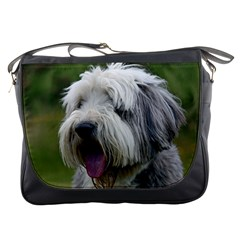 Bearded Collie Messenger Bags