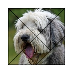 Bearded Collie Acrylic Tangram Puzzle (6  x 6 )